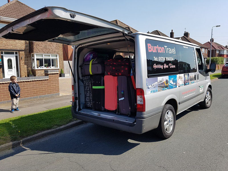 Burton Travel Mini Bus